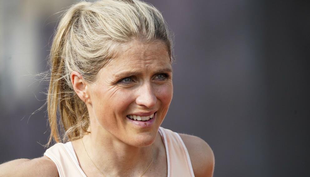 IMPONERT: Johaug har imponert på friidrettsbanen tidligere. I 2019 ble hun norgesmester nettopp på 10 000 meter. Da deltok ikke Grøvdal. Foto: Lise Åserud / NTB