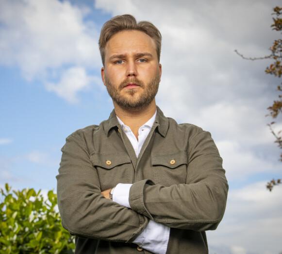 STARTE OPP EGET: Kjetil Kirk forklarer at han har gjort suksess under pandemien med en kompis. Foto: Tor Lindseth / Se og Hør