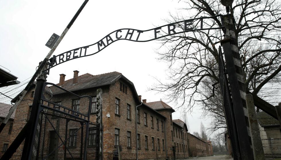 DØDE: Minst 1,1 milioner mennesker døde i Auschwitz-komplekset under andre verdenskrig. Foto: Kacper Pempel / Reuters / NTB