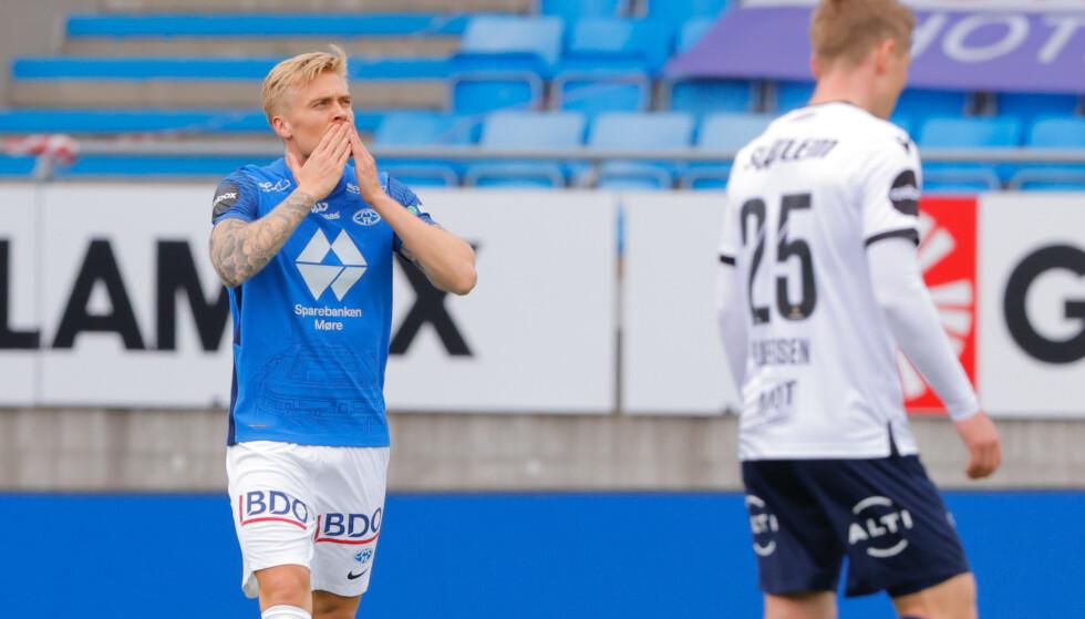 SCORET: Eirik Ulland Andersen. Foto: NTB