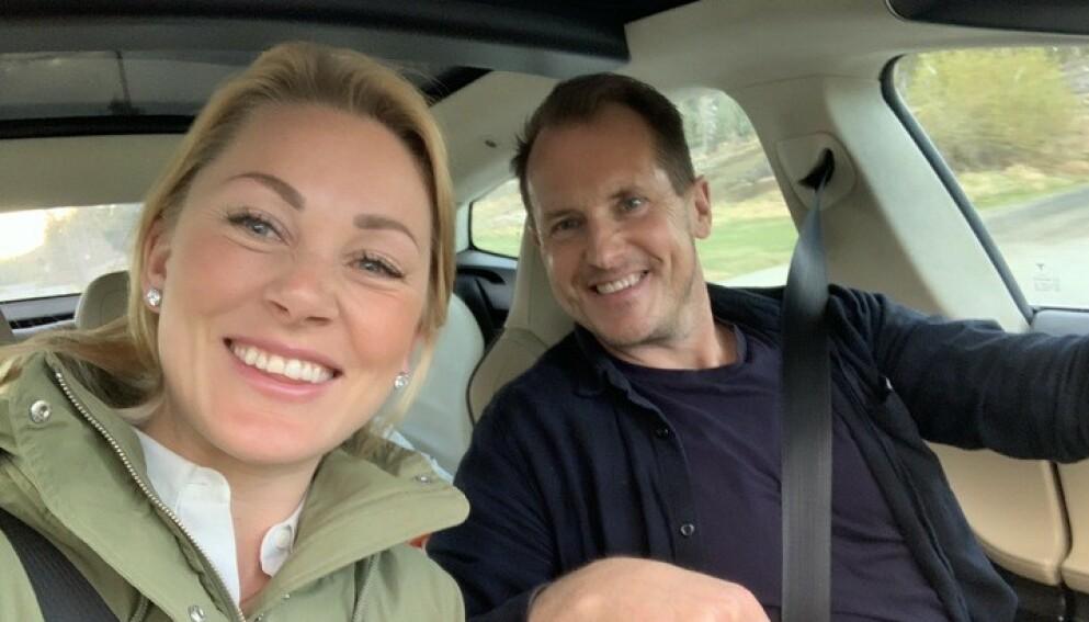 KJÆRESTER: Per Gunvald Haugen bekrefter søndag at han og Karianne Wahlstrøm har blitt kjærester. Foto: Privat