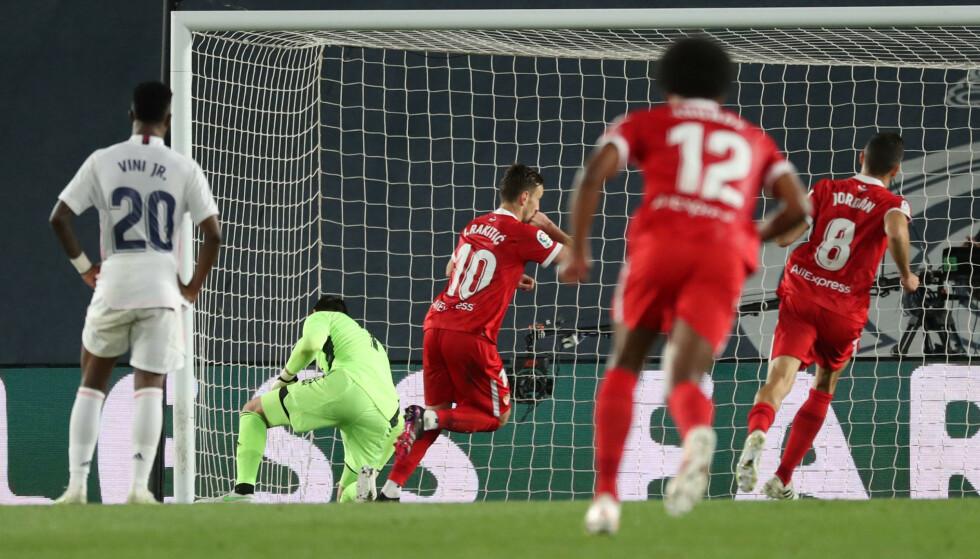 NY STRØMMETJENESTE: Norsk Tipping har lansert egen strømmetjeneste som skal vise fotball fra blant annet spanske La Liga. Foto: REUTERS/Susana Vera.