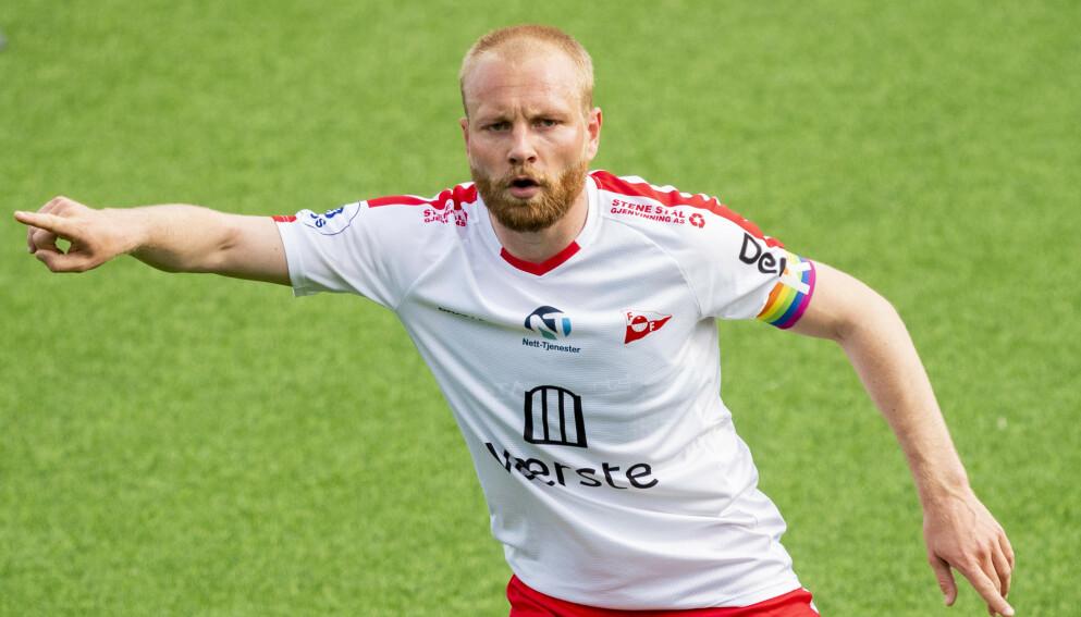 FORVENTNINGER: Henrik Kjelsrud Johansen og Fredrikstad har imponert i treningskampene, og forventes å kjempe om en playoff-plass i årets 1. divisjon. Foto: NTB
