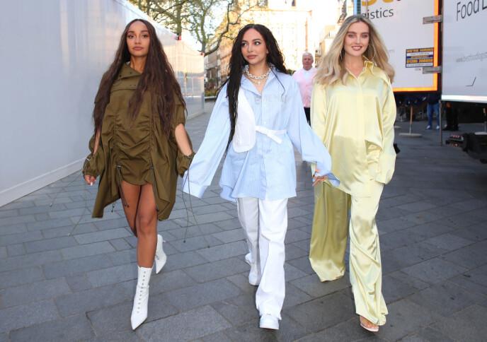 POPSTJERNER: Jentegruppa Little Mix består av (f.v) Leigh-Anne Pinnock, Jade Thirlwall og Perrie Edwards. Foto: Beretta/Sims/Shutterstock/NTB