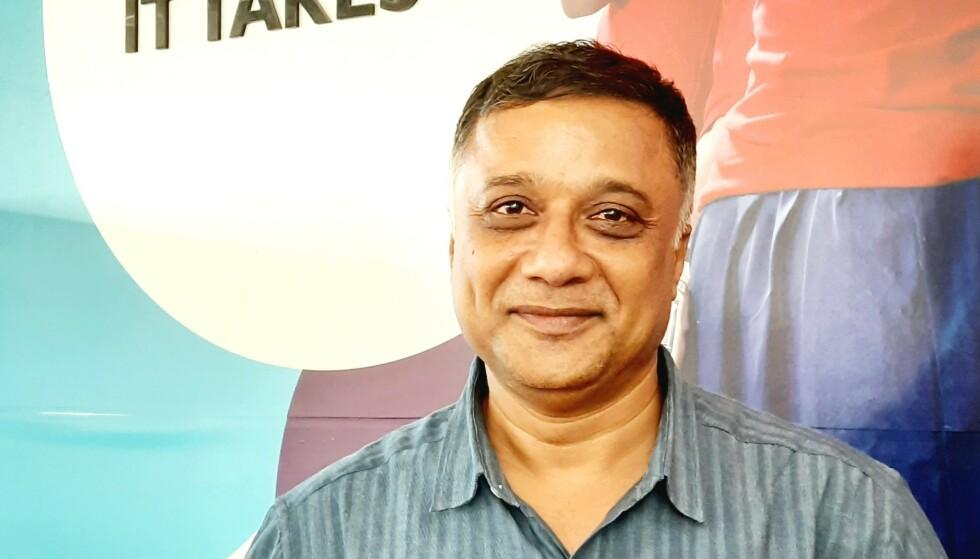BEKYMRET: Administrerende direktør i Redd Barna India, Sudarshan Suchi, er redd for at coronapandemien skal føre til en oppblussing i menneskehandel. Foto: Privat
