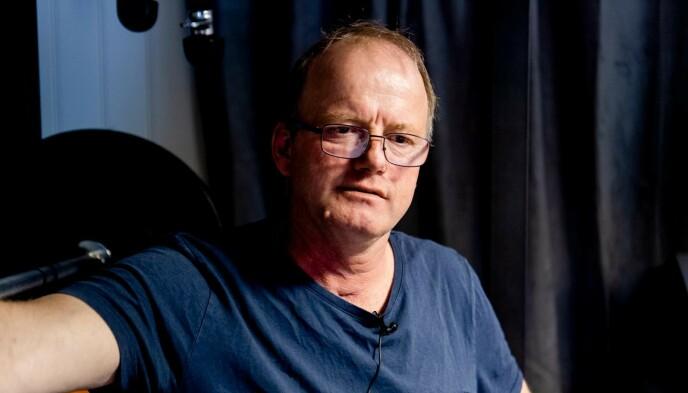 SNAKKER UT: Terje Leer ble smittet av corona og havnet i respirator. Nå snakker han ut om den tøffe tida. Foto: Lars Eivind Bones / Dagbladet