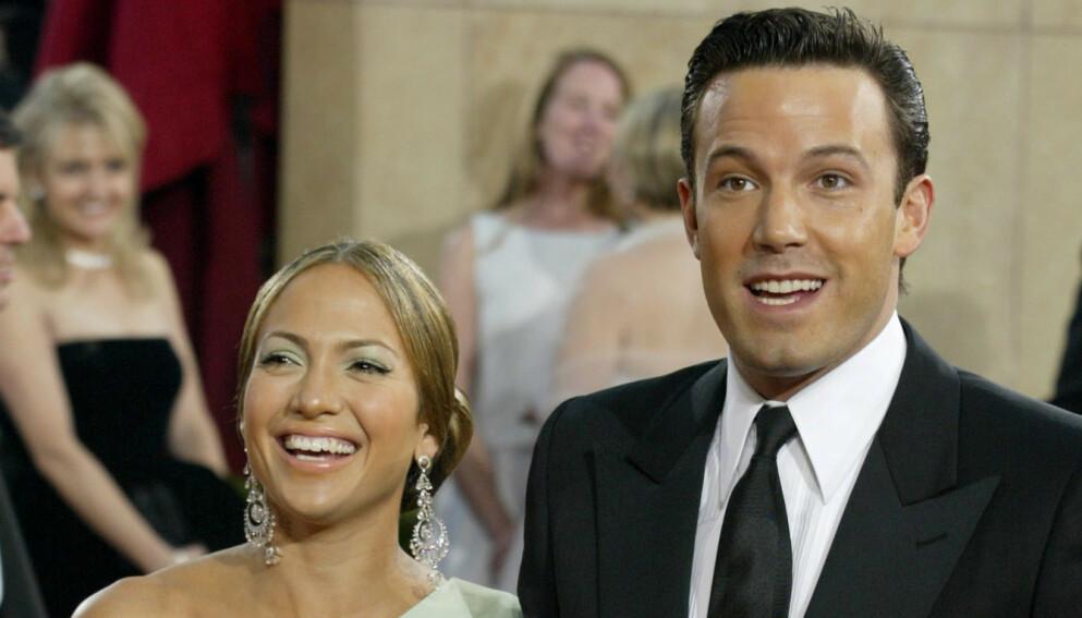 GJENFORENT: De siste ukene har det florert rykter om at Jennifer Lopez og Ben Affleck har funnet tilbake til hverandre. Nå uttaler også sistnevntes gode venn Matt Damon seg om romansen. Foto: Fred Prouser / Reuters / NTB