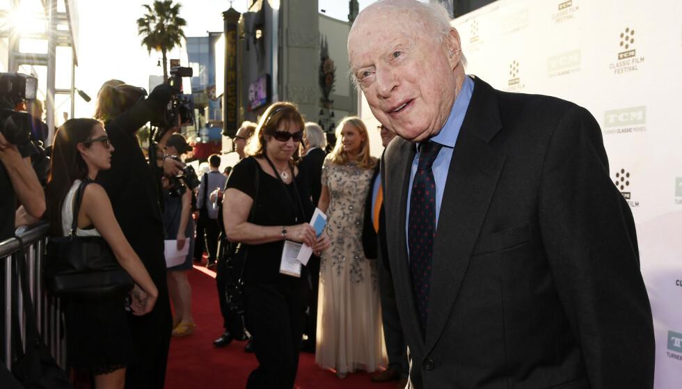 DØD: Norman Lloyd døde onsdag 106 år gammel. Her er han under 50-årsjubileet for filmen Sound of Music i Los Angeles i 2015. Foto: Chris Pizzello/Invision/AP, File