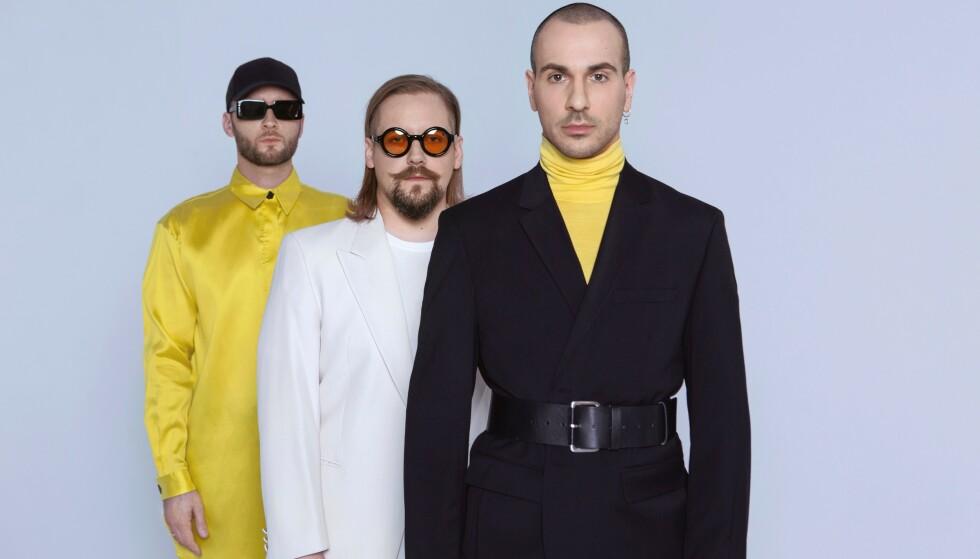 THE ROOP: Se opp for denne synth-trioen som leker med 80-tallet. Foto: Esc