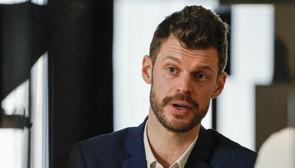 KRITISK: Rødt-leder Bjørnar Moxnes er blant dem som mener Erna Solbergs regjering har undergravd offentlig innsyn. Foto: Håkon Mosvold Larsen / NTB