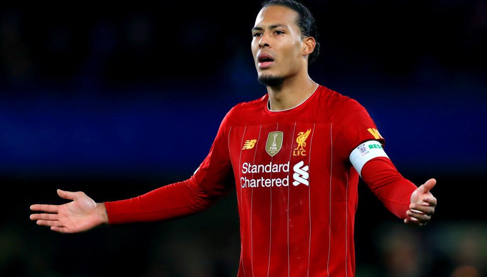 FORUNDET: Liverpool-lederen er like forundet som Virgil van Dijk. Foto: NTB