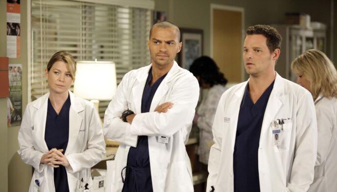 FERDIG: Jesse Williams gir seg som Dr. Jackson Avery. I serien har han spilt siden seriens sjette sesong. Foto: Abc-Tv Kobal / REX / NTB