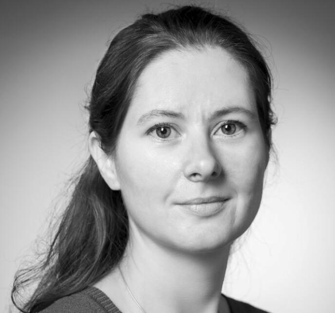 SJOKKERT: Vaksineforsker Gunnveig Grødeland ved UiO er svært overrasket over regjeringens beslutning. Foto: Øystein Horgmo / UiO