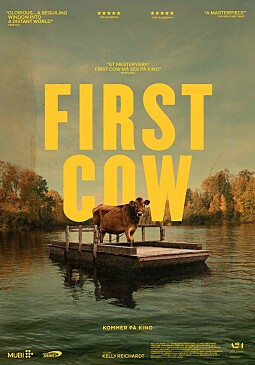 FIRST COW - NO POSTER.indd