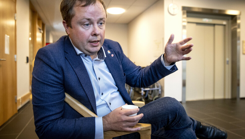TAR TID: Ordfører i Porsgrunn, Robin Martin Kåss (Ap), sier til Dagbladet at han er forberedt på enda høyere smittetall . Foto: Bjørn Langsem / Dagbladet