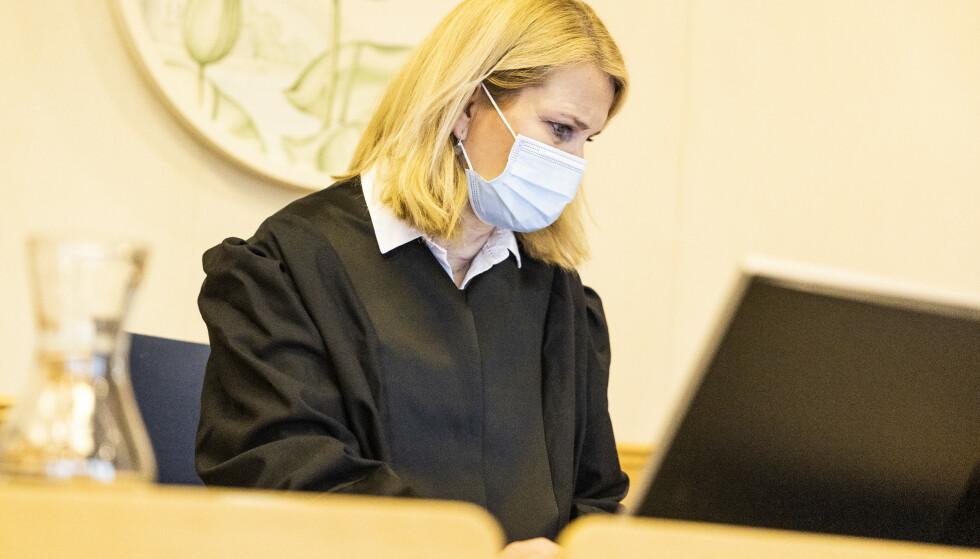 AKTOR: Mandag startet rettssaken mot 46-åringen. Her ved påtaleansvarlig Anne Margrete Katteland. Foto: Trond Reidar Teigen / NTB