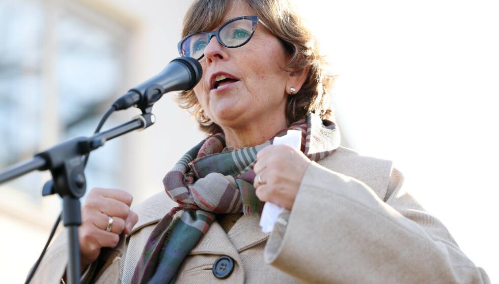 JUBEL: Bærum-ordfører Lisbeth Hammer Krog (H) jublet over skjevfordelingen. Foto: Ørn E. Borgen / NTB