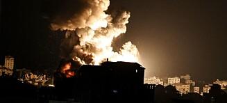 Israel trues av borgerkrig