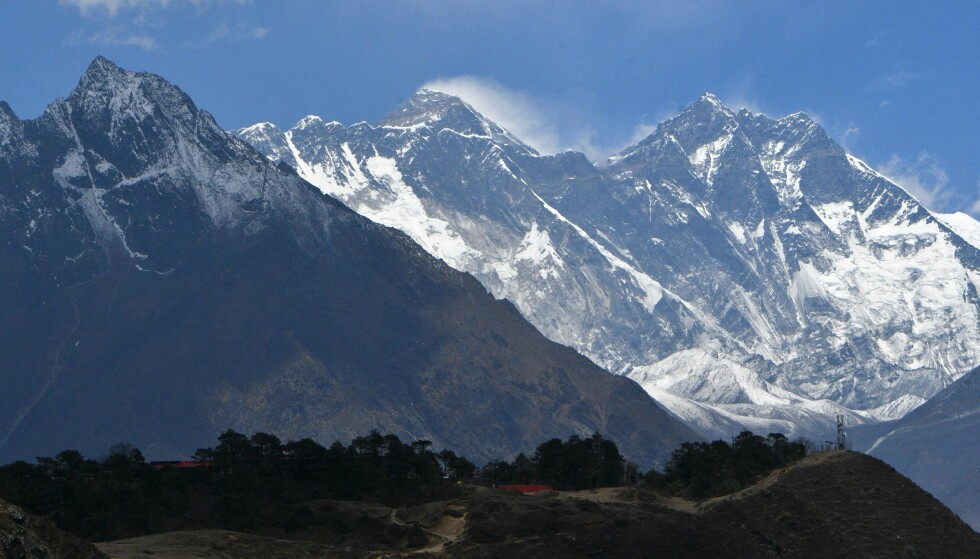 Death: Two people have died this week in an attempt to reach the summit of Mount Everest.  Photo: Prakash Mathema / AFP / NDP