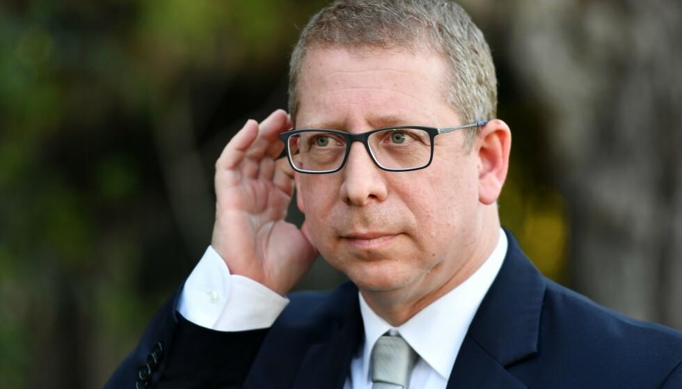 FAKTASJEKKET: Talsperson ved statsministerens kontor i Israel, Ofir Gendelman. Foto: Fadel Senna / AFP / NTB