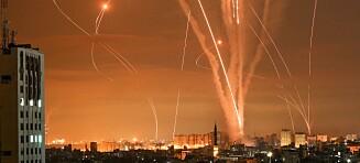 Lover «non-stop»-bombing av Gaza