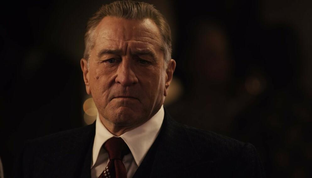 SKADA: Robert De Niro har pådratt seg ei skade, og har reist hjem fra filminnspilling i Oklahoma. Foto: Shutterstock