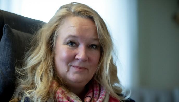 VIL LEVE: Cathrine Nordstrand nekter å gi opp håpet og vil prøve å få det meste ut av den tiden hun har igjen. Foto: Bjørn Langsem / Dagbladet