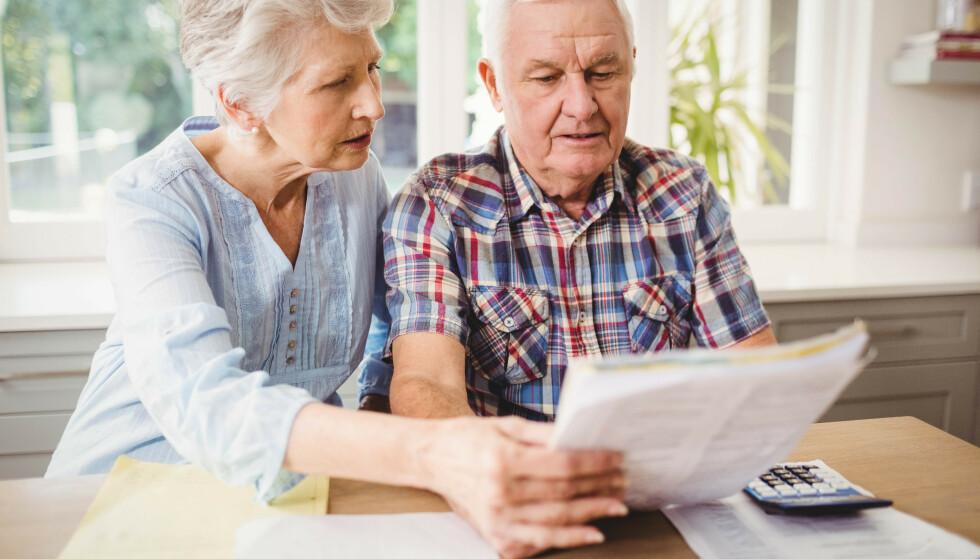 MER I LOMMEBOKA: Trygdeoppgjøret foregår 19.og 20. mai, men Pensjonistforbundet har i forkant sett på hvordan utfallet av årets oppgjør kan slå ut for pensjonistene. Foto: NTB scanpix