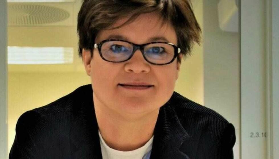 EKSPERT: Dorte Herzke jobber for avdelingen for miljøkjemi i Tromsø og er bekymret over PFAS i brystmelk. Foto: Privat