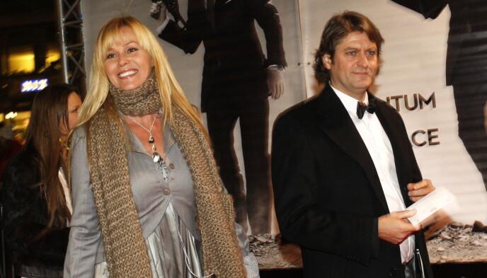 LYKKELIG FORHOLD: Dorthe Skappel og mannen Jon Skappel har vært sammen i en årrekke. Dette bildet ble tatt så langt tilbake som i 2008. Foto: Knut Falch / NTB