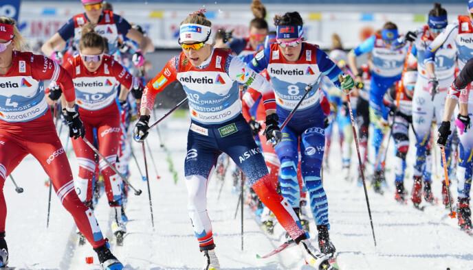 FRYKT: Hvis forbudet blir innført nå frykter Snesrud at norske løpere kan bli nekta start fordi kontrollapparatet ikke fungerer godt nok. Foto: Terje Pedersen / NTB