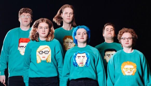 DAÐI OG GAGNAMAGNIÐ: Herlige nerder med smektende pop. Foto: ESC