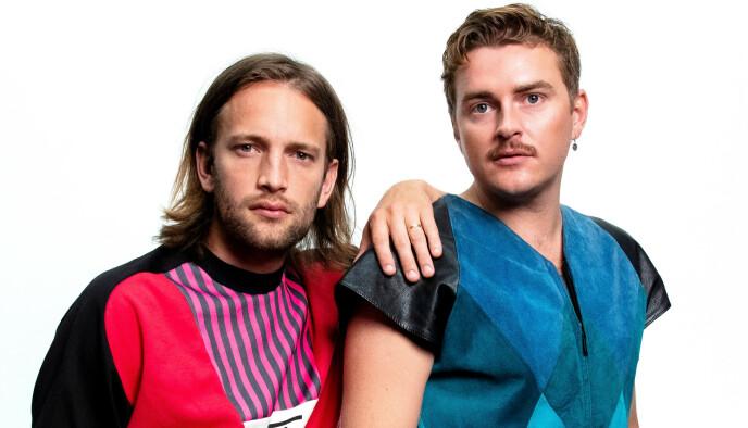 LAURITS EMANUEL og JESPER GROTH: Deilig, folkelig og dansk. Foto: ESC