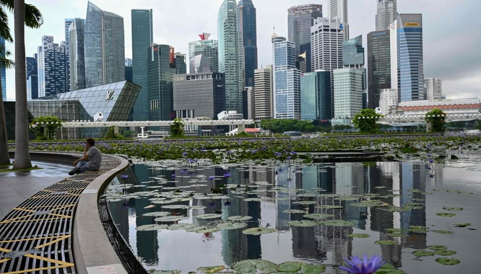 - VERDENS BESTE: I april ble Singapore kåret til det beste landet å oppholde seg under pandemien. Foto: Roslan Rahman / AFP / NTB