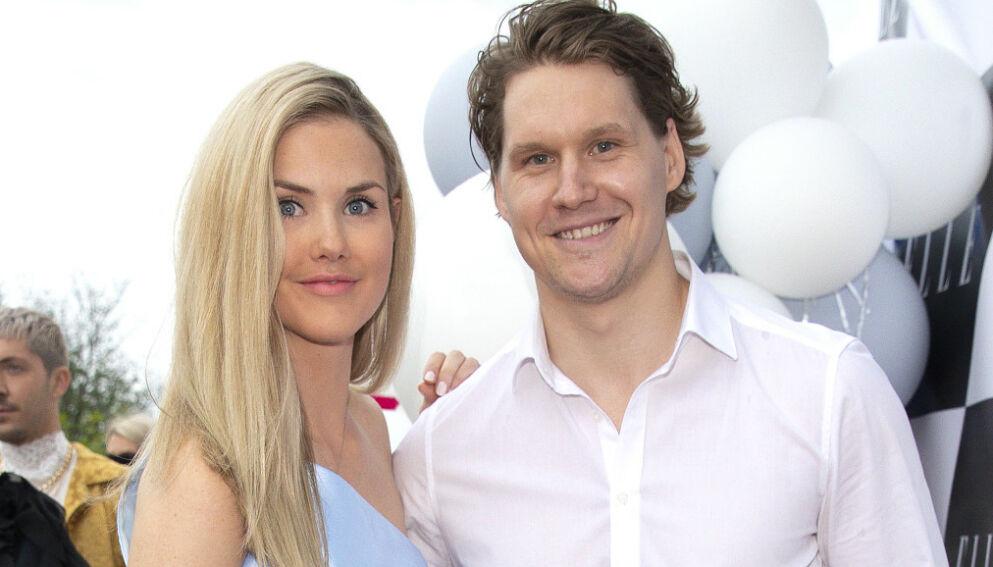 SNART FORELDRE: Silje Norendal og Alexander Bonsaksen blir snart foreldre til en liten jente. Foto: Andreas Fadum