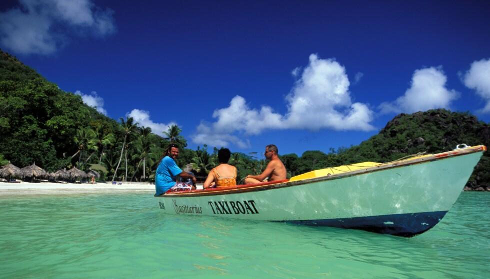 TURISME: Seychellene er helt avhengige av turisme, og gjenåpnet nylig grensene. Her fra stranda Cote d'Or. Foto: Patrick Frilet / REX / NTB