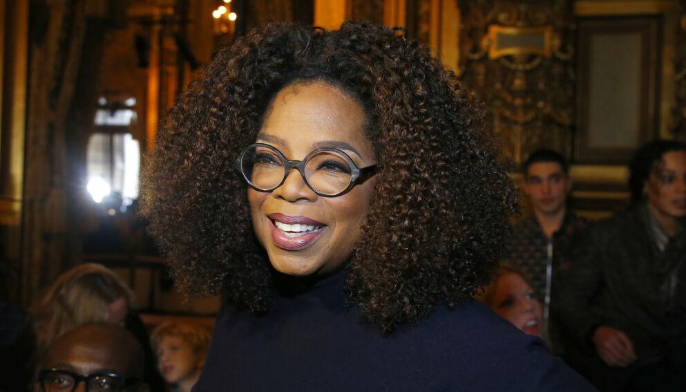 ÅPNER OPP: Oprah Winfrey legger ikke skjul på at et helt spesielt øyeblikk fra karrieren aldri går i glemmeboka. Foto: APMichel Euler/NTB