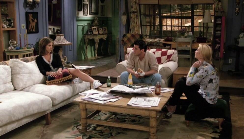 KJENT STUDIO: Mens «Friends» ble spilt inn i et studio i Los Angeles, kan du nå leie en så å si kliss lik leilighet med rekvisittene fra serien i New York. Foto: Warner Bros.