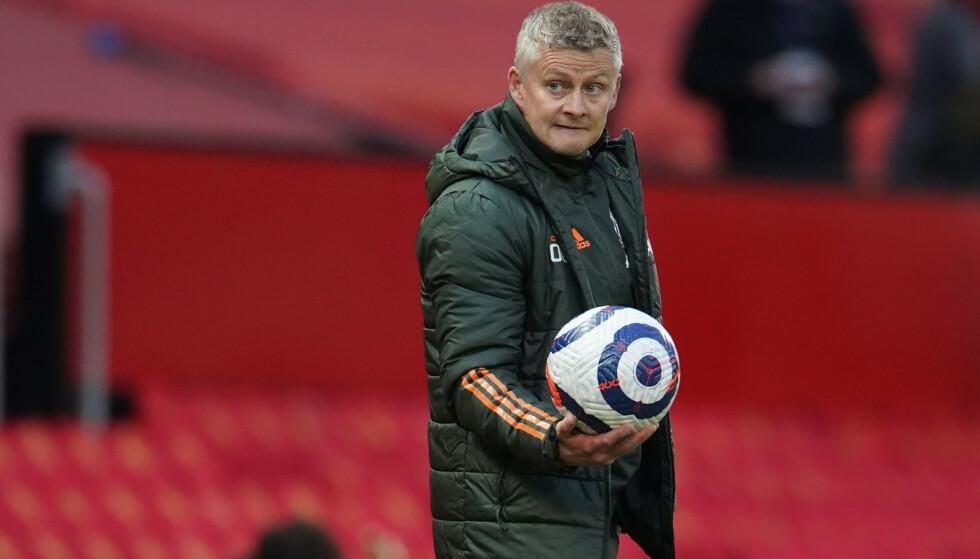 ENDELIG FINALE: Ole Gunnar Solskjær skal lede Manchester United i en finale for første gang. Foto: REUTERS/Dave Thompson/NTB