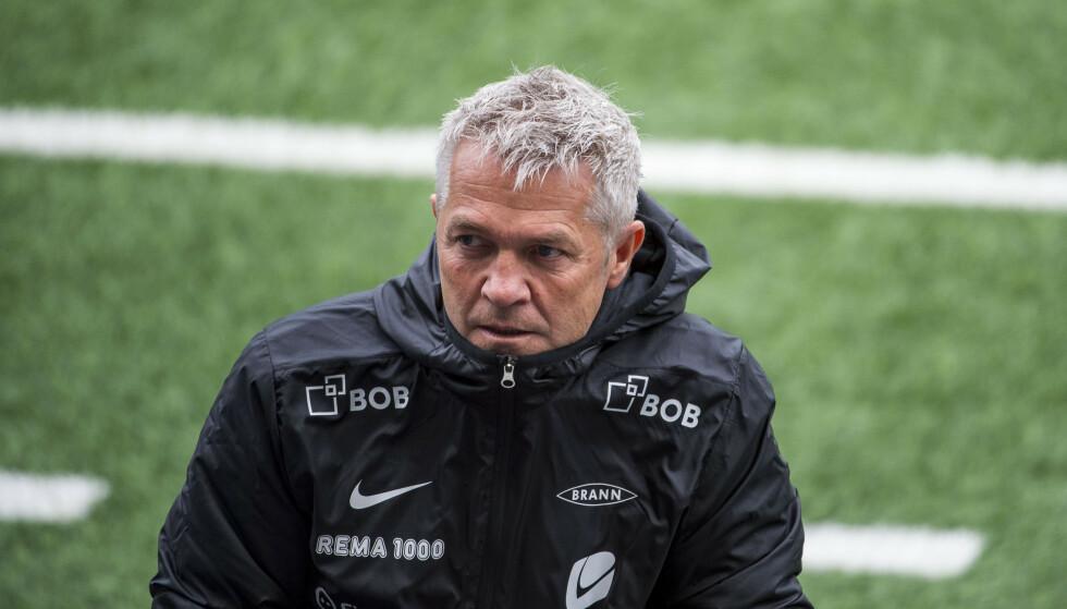 PRESSET: Brann-trener Kåre Ingebrigtsen. Foto: Carina Johansen / NTB