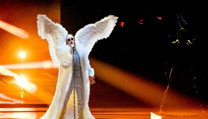 VINN ELLER FORSVINN: Tix tror selv han kan ende opp på sisteplass eller vinne hele Eurovision. Foto: Shutterstock.