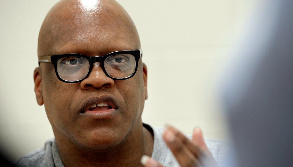 FRIKJENT: Leon Brown ble dømt i 1985. Nå får han millionerstatning. Foto: NTB / Chuck Liddy / The News & Observer