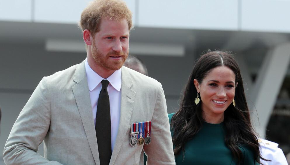 FÅR PASSET PÅSKREVET: Prins Harry og hertuginne Meghans omtalelser av kongehuset har fått og får hard medfart. Foto:Matt Baron/REX/NTB
