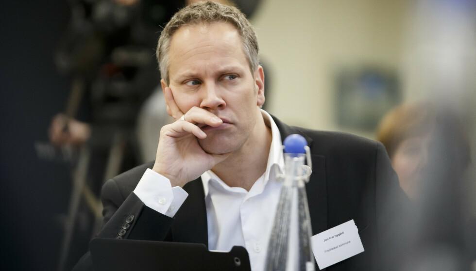 ALVORLIG: Ordfører i Fredrikstad, Jon-Ivar Nygård, mener det er viktig å se alvorlig på bråket i Fredrikstad 17. mai. Foto: Heiko Junge / NTB