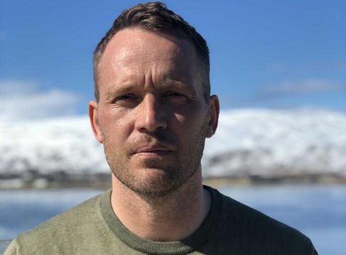 EKSPERT: Martin Rypdal har over de to siste årene forsket på innlandsisen i Grønland. Han mener resultatene de har funnet er skremmende. Foto: Privat