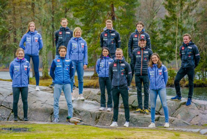 KUN FOR GUTTA: Bare gutta på hopplandslaget får hoppe skiflyging til vinteren. Foto: Stian Lysberg Solum / NTB