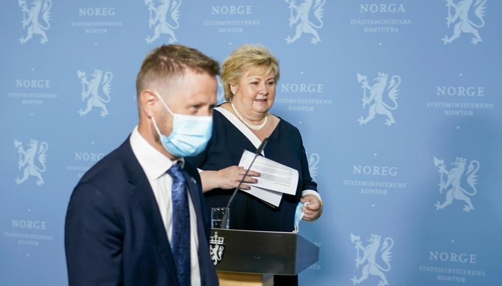 NY STRATEGI: Regjeringen har besluttet å forsøke å gå for en mer radikal geografisk omfordeling av vaksiner i Norge. Nå ber Øygarden kommune dem om å snu. Foto: Gorm Kallestad / NTB