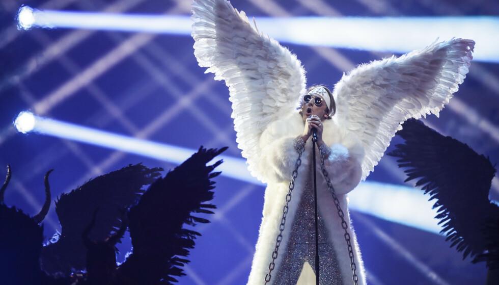 FINALE: I kveld får vi vite hvem som stikker av med seieren i årets «Eurovision». Vår egen TIX synger som nummer 22. Her under første semifinale i Rotterdam. Foto: Peter Dejong/AP