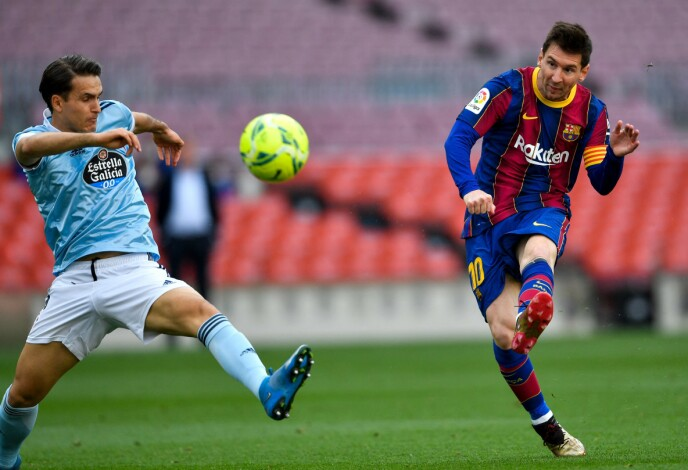 ØNSKET MED VIDERE: Lionel Messi. Foto: NTB