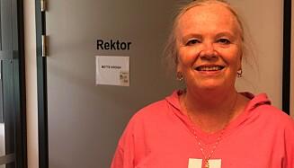 UENIG MED HØYRE: Rektor ved Ringshaug skole i Tønsberg, Mette Krogh sier hun ikke deler Mathilde Tybring-Gjeddes (H) syn på læring. Foto: Thor-Erik Rødland